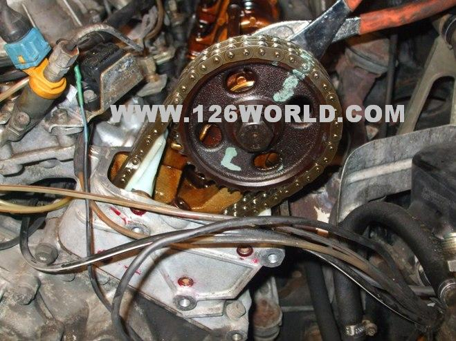 W126 V8 Mercedes Timing Chain + Guide Install - Mercedes-Benz Forum