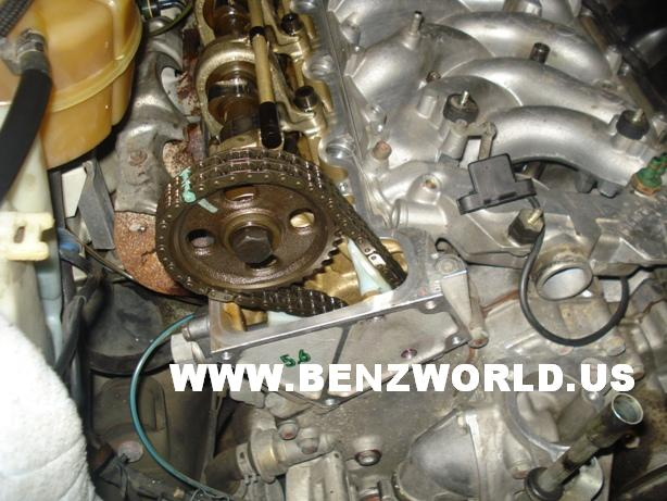 mercedes benz timing chain replacement