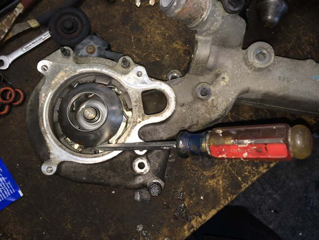 Cadillac Northstar Engine Water Pump + Housing / Crossover leaking