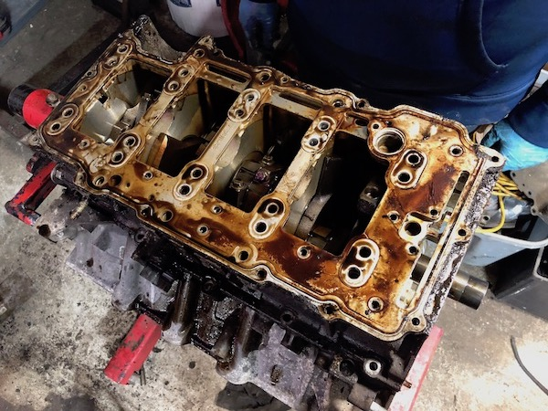 Cadillac Northstar Engine Removal